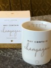 """May contain champagne"" krus fra Katie Loxton thumbnail"