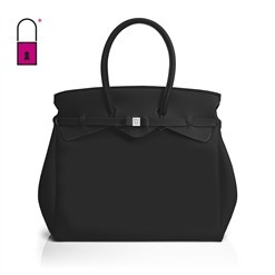 "Save My Bag ""MISS WEEKENDER"" veske i fargen Nero(svart)"